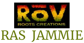 Rasjammie -All original homegrown American Reggae, Jamaican Ska Logo